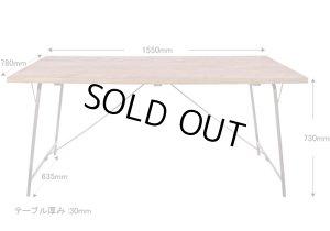 画像4: socph work-dining table ソコフ/ワークダイニングテーブル 1550