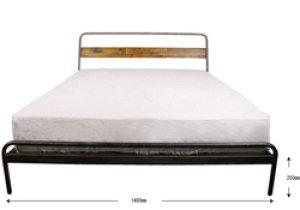 画像2:  socph bed  ソコフ ベッド (ダブル)