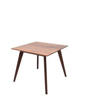 画像1: カーゴテーブル ウォルナット無垢材クリア 85
