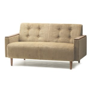 画像1: wn sofa 2P F-Type WNソファ 二人掛け ファブリック 60色