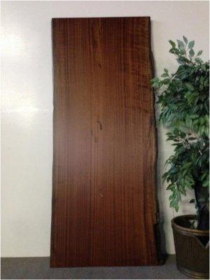画像1: サペリ 天然無垢天板 (二枚はぎ) W2000