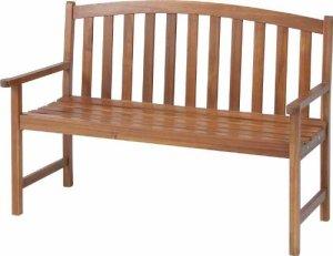 画像1: アカシア ベンチ 木製