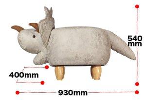 画像4: animal stool アニマル スツール (トリケラトプス)
