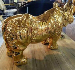 ライノ オブジェ ゴールド シルバー ライノ家具店
