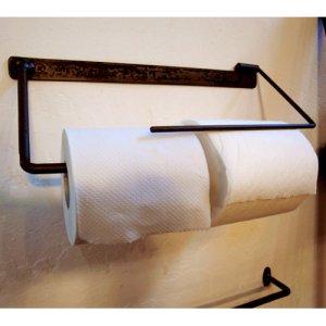 画像1: iron paper holder - アイアンペーパーホルダー -